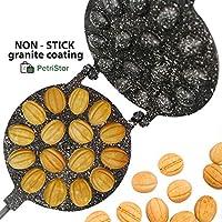 核桃饼干模具机 16 半折不粘涂层花岗岩 饼干糕点
