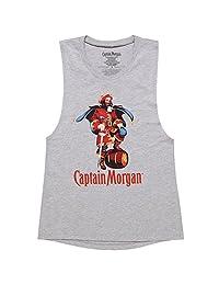 摩根队长徽标青少年肌肉背心