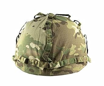 儿童战斗头盔,带 Multicam 套,适合 5-12 岁儿童