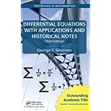 Differential Equations with Applications and Historical Notes (Textbooks in Mathematics) (English Edition)