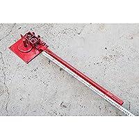 手动折弯机手动弯曲机钢筋搬盘钢筋折弯机弯钢筋箍机手动工具6mm厚弯箍机