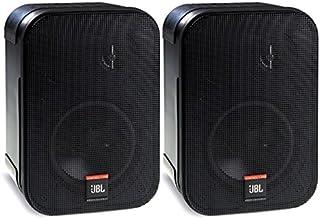 JBL Professional Control 1 Pro高性能 二分频 专业小巧扬声器系统,黑色(成对出售)-C1PRO
