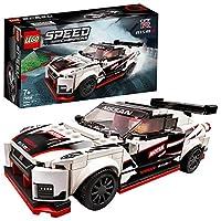 LEGO 76896 Speed Champions Nissan GT-R NISMO 赛车玩具带赛车司机迷你人偶,赛车积木组