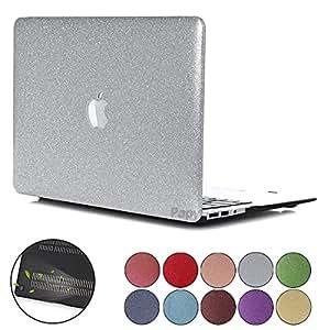 MacBook Pro 15 Retina 保护套,PapyHall 时尚牛仔裤系列设计全机身保护壳 Apple MacBook Pro 15 英寸带 Retina 显示屏型号:A1398 01 SS-Silver 13英寸 CarryingCaseOrBag