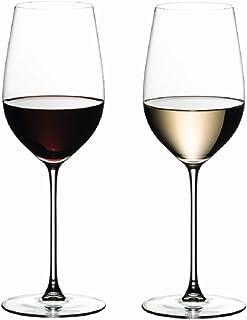 Riedel 6449/15,Veritas Riesling / Zinfandel,2个白葡萄酒杯,395毫升