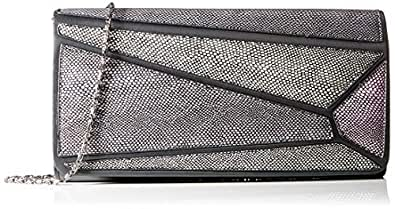 Eferri Glamour Dense 女士手拿包,粉红色(玫瑰红),2x10x30 厘米(宽 x 高 x 长)