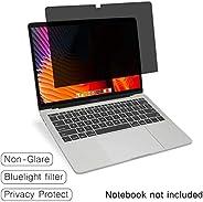 SenseAGE 隱私屏幕過濾器,適用于 14 英寸寬屏筆記本電腦,防藍光隱私屏幕保護膜