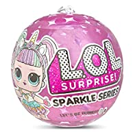 L.O.L Surprise! 560296 L.O.L Sparkle Series with Glitter Finish and 7 Surprises, Multi