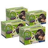 Sofn'Free Milk Protein & Olive Oil No-Lye Relaxer Kit Regular Kit - Pack of 4