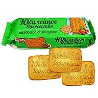 甜蜜农庄 俄罗斯进口 饼干 120g/袋*10 休闲零食 (榛仁庆典饼干)