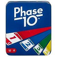 Mattel 游戏:官方 Phase 10 锡 [亚马逊*]