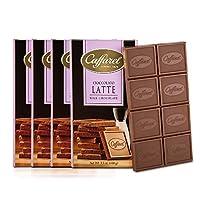 Caffarel 口福莱 排装牛奶巧克力100g*4(意大利进口)(亚马逊自营商品, 由供应商配送)
