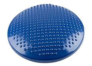 Hudora 中性成人经典平衡垫子 - 蓝色,S 码