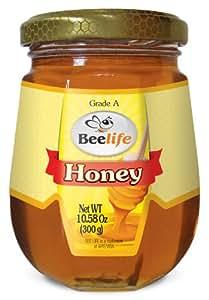 Beelife,* 纯净、原生和未过滤蜂蜜 Jar 10 Oz 10.58