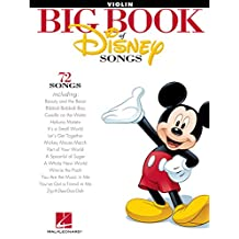 The Big Book of Disney Songs for Violin (English Edition)