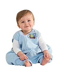 美国 HALO 赫拉 安全睡袋 学步幼儿 摇粒绒 可伸脚 蓝色小火车 XL(18-24个月) 秋冬厚款