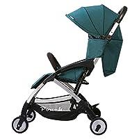 Pouch 婴儿推车可坐可躺轻便折叠儿童手推车上飞机宝宝伞车夏 (墨绿)
