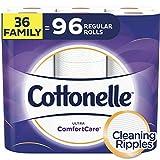 cottonelle 超 comfortcare GC 2710/02家庭卷 PLUS 厕纸 Wavy Ripple 36 Family Rolls+ 192