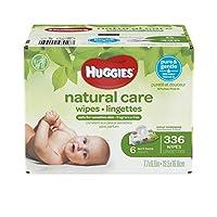 HUGGIES 敏感天然护理无味婴儿湿巾336片