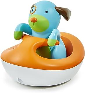 美国Skip Hop洗澡玩具 可爱动物园小狗快艇SH235353