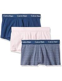 Calvin Klein 卡尔文·克莱恩 男士 棉 Stretch 多件装 低腰平角内裤