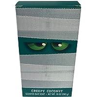 CST Commonwealth 香皂洗漱用品万圣节恐怖恐怖的妈妈服装趣味僵尸肥皂 10 盎司棒 Creepy Coconut
