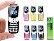 J7 世界上*小的手机 - 迷你手机小于 bm10 解锁(黑色)
