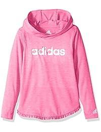 adidas Toddler Girls' Hooded Long Sleeve Top