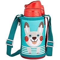 TIGER 虎牌 日本版兒童冷熱兩用真空保溫杯 600ml MBR-B06G AR-鼴鼠