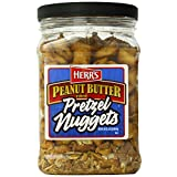 Herr's Peanut Butter Filled Pretzel Barrel, 24 Ounce