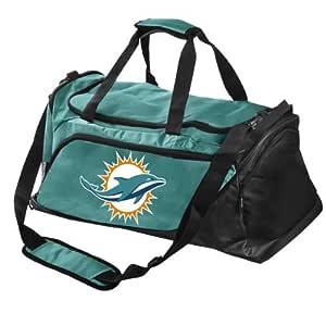 NFL Miami Dolphins Locker Room Collection 中号旅行包