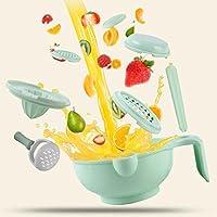 农果果 食物研磨器 辅食工具套装多功能 (嫩草绿)