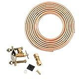 铜管选择软管和管状制冰机和加湿器安装套件,包括完整安装所需的一切