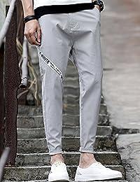 MPSMOVE 2018男装夏季直筒裤休闲裤男士弹力休闲九分裤男裤子男牛仔裤UK1851【709】