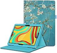 Fintie 保护套适用于 VANKYO MatrixPad S30 10 英寸平板电脑 - [免提] 多角度观看对开智能支架保护套带口袋,适用于 MatrixPad S30 10.1 英寸安卓平板电脑