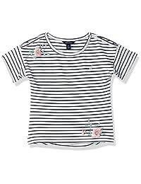 Nautica 女童短袖时尚 T 恤