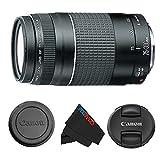 Canon EF 75-300mm f/4-5.6 III 长焦变焦镜头适用于佳能 SLR 进口和美国摄像机