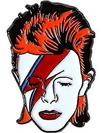 Aquarius David Bowie 搪瓷别针,多色,2.125 x 7