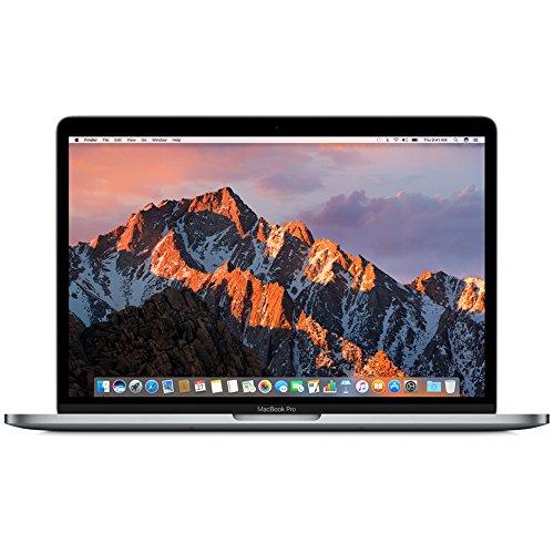 Apple 苹果 MacBook Pro 13英寸笔记本电脑 2.3GHz 双核 Intel Core i5 处理器 MPXQ2CH/A 深空灰-128GB 固态硬盘 苹果电脑 不带touch-bar2017款