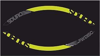 Winora Group 中性款 – 成年轮辋装饰-3050812780 装饰,黑色/青柠色/灰色,27.5 英寸