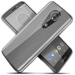 Celljoy 手机壳兼容摩托罗拉 Moto E5 Plus、Moto E5 Supra、Moto E Plus * 5 代 [[超薄抓地力 TPU]] - 超薄 - 高冲击防震 - 超薄防摔 - 薄防撞 - *小 - 碰撞和刮保护 透明