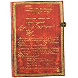 Paperblanks 笔记本 主题 Napoleon's 250 周年纪念日,横线
