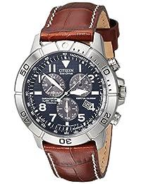 Citizen 西铁城男士 BL5250-02L 钛合金光动能手表(配皮表带)