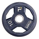 Power Systems 聚氨酯举重板,2.5 磅,黑色 (55883)