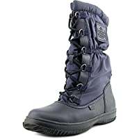 Coach Women's Sage Lace-Up Cold Weather Midnight Navy Boots US