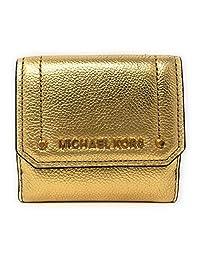 Michael Kors 迈克高仕 Hayes 中号三折硬币保护套皮革钱包