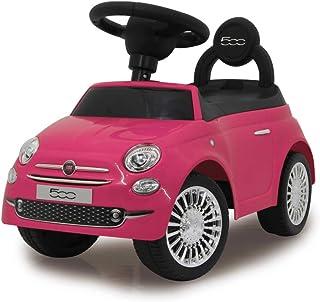Jamara 460436 粉色 460436 - Push-car 菲亚特 500 防倾斜 靠背 扶手 后备箱 座椅下 声音 喇叭