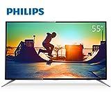 PHILIPS 飞利浦 55PUF6192/T3 55英寸4K智能安卓窄边平板液晶电视(亚马逊自营商品, 由供应商配送)
