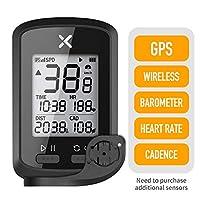 XOSS G+ GPS 自行车电脑无线节奏心率自行车速度计里程表自行车追踪器防水公路自行车 MTB 自行车蓝牙 ANT+