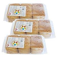 4袋 甜蜜农庄 俄罗斯进口 饼干 330g 早餐饼干 休闲零食 … (嗨皮牛牛奶饼干)